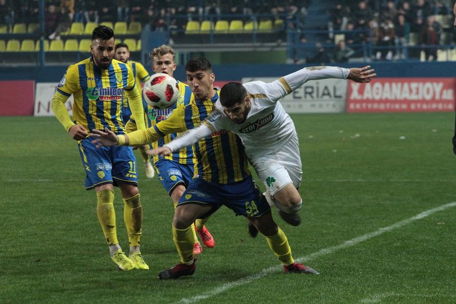 Super League: Υποχώρησε στην 8η θέση μετά τα εξ αναβολής ο Παναιτωλικός