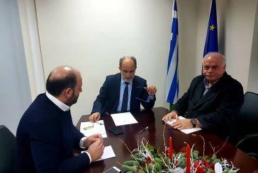 Σαλαμούρας-Κατσιφάρας συζήτησαν για τη διαχείριση αποβλήτων από τον δήμο Ναυπακτίας