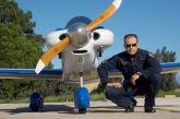 Αγωνία για τον πιλότο του διθέσιου αεροσκάφους που κατέπεσε στο Μεσολόγγι