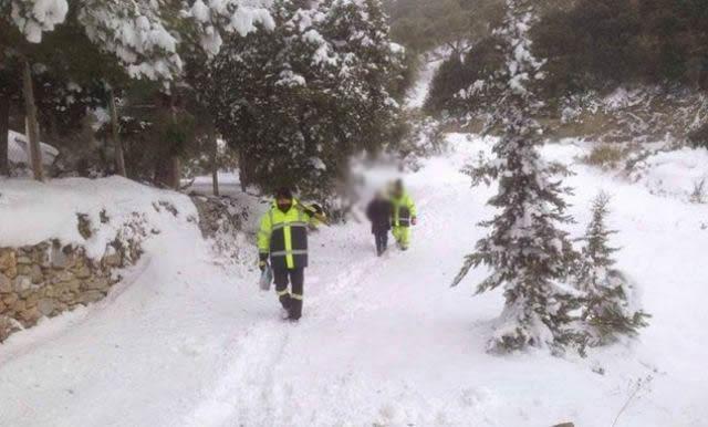 Eυρυτανία: Θάνατος στα χιόνια μετά το ρεβεγιόν