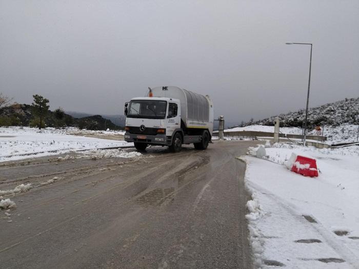 Άνοιξε ο ΧΥΤΑ Στράτου- είχε τεθεί εκτός λειτουργίας λόγω χιονιού