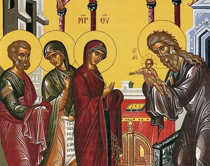Αγρυπνία για την εορτή της Υπαπαντής στο Ιερό Ησυχαστήριο Αγίων Κυπριανού και Ιουστίνης Παναιτωλίου