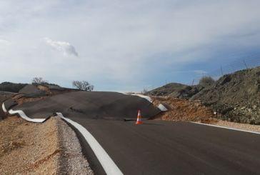 Κατολίσθηση έκοψε στα δύο το δρόμο Παλιάμπελα-Μοναστηράκι