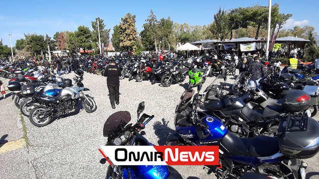Εκατοντάδες μοτοσυκλετιστές από όλη την Ελλάδα στο Μεσολόγγι