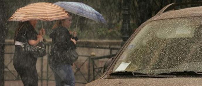 Διήμερο με καταιγίδες και λασποβροχές-Πρόγνωση για την Αιτωλοακαρνανία