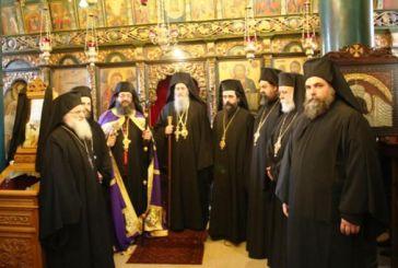 H Μητρόπολη Ναυπακτίας εόρτασε τον Άγιο Πολύκαρπο με χειροτονία Πρεσβυτέρου και ενθρόνιση Ηγουμένου