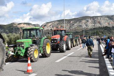 Κλειστή από αγρότες και σήμερα, Σάββατο, για πέντε ώρες η Ιόνια Οδός