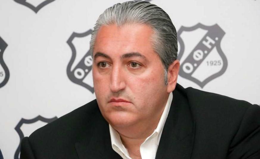 Μπούσης (Πρόεδρος ΟΦΗ): «Ευχαριστώ Δέλλα και Παναιτωλικό που δεν έκαναν μεγαλύτερο το θέμα»