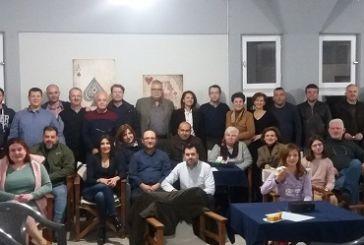 Ευχάριστο κλίμα στην κοπή πίτας του Ομίλου Αγωνιστικού Μπριτζ του Δήμου Αγρινίου