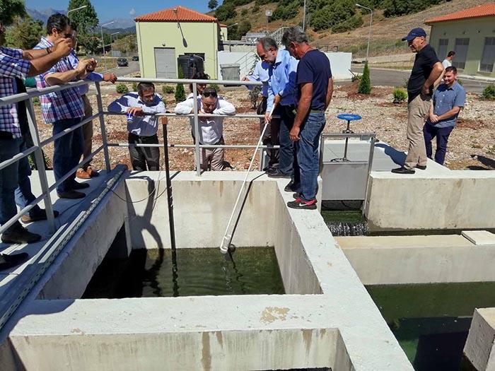 Δυτική Ελλάδα: Τα δίκτυα αποχέτευσης σε Καινούργιο και Παναιτώλιο στα σημαντικά έργα του 2018