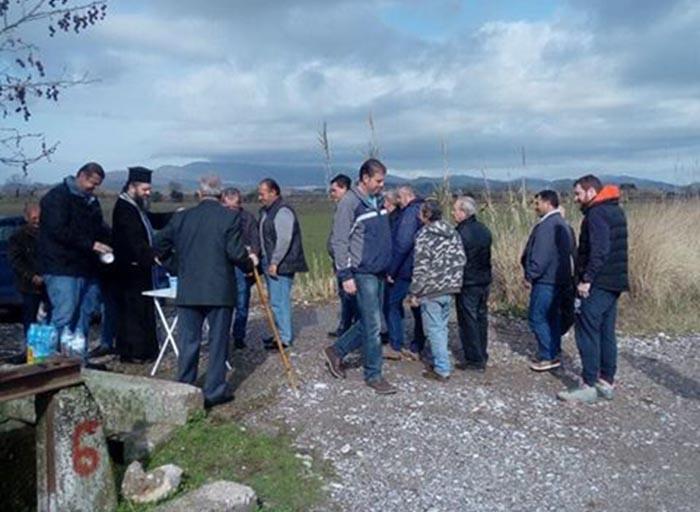 Στον κάμπο της Μεγάλης Χώρας γιόρτασαν τον Άγιο Τρύφωνα γεωργοί και κτηνοτρόφοι (φωτο)