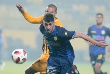 Παναιτωλικός: Στους τρεις καλύτερους νέους ποδοσφαιριστές του 2018-19 ο Γιώργος Λιάβας