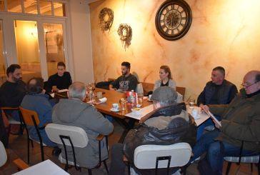Στελέχη του ΜέΡΑ25 συναντήθηκαν στο Αγρίνιο