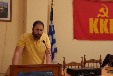 Ο Νώντας Μωραΐτης υποψήφιος δήμαρχος της Λαϊκής Συσπείρωσης στο δήμο Ακτίου – Βόνιτσας