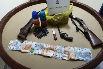 """12 συλλήψεις για """"μπαρμπούτι"""" σε χωριό της Άρτας"""