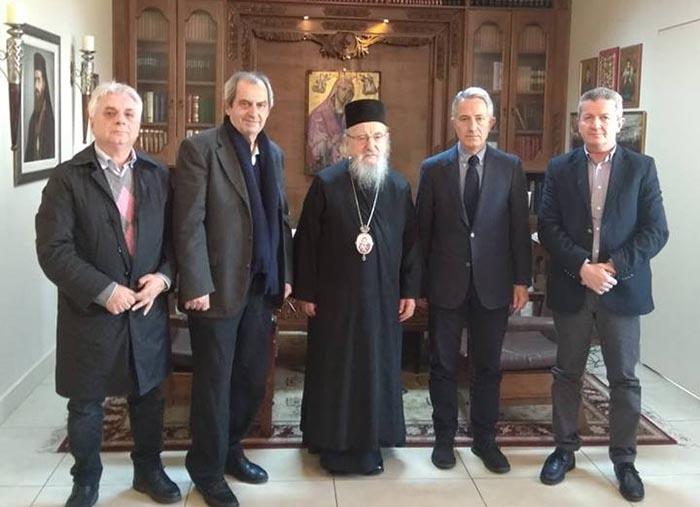 Ο Σπηλιόπουλος στον Μητροπολίτη Κοσμά: «Θα υπάρξει στενότερη συνεργασία μεταξύ των δύο πλευρών»
