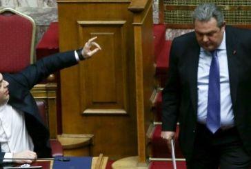 Καμμένος: Είστε ψυχρός εκτελεστής-Τσίπρας: Είστε ένας νέος Αντώνης Σαμαράς (βίντεο)