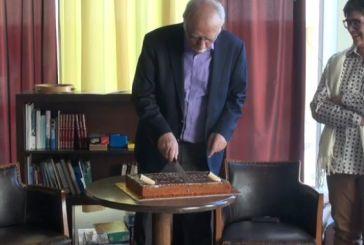 Έκοψε την πίτα του ΣΥΡΙΖΑ Ναυπάκτου ο Δημ. Βίτσας- «της Εκκλησίας» το πρώτο κομμάτι (video)