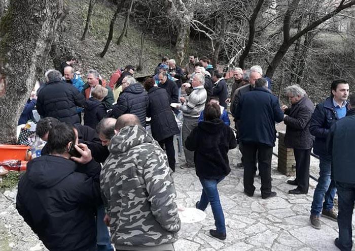 """Μεγάλη προσέλευση στη """"Γιορτή Τσιγαρίθρας"""" στη Χόμορη ορεινής Ναυπακτίας (video)"""