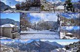 Ορεινό Θέρμο: Πανδαισία του λευκού, αποχαιρετισμός στον χειμώνα