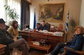 """Τα χαλκούνια στην ατζέντα της συνάντησης του δημάρχου Αγρινίου με τη """"Δρω"""""""