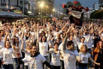 Η Πάτρα διεκδικεί σήμερα το Ρεκόρ Γκίνες για την μεγαλύτερη αλυσίδα καρναβαλικού χορού