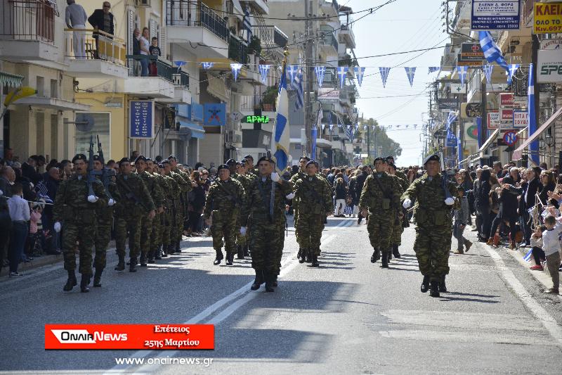 Yπό δρακόντεια μέτρα ασφάλειας η παρέλαση στο Μεσολόγγι
