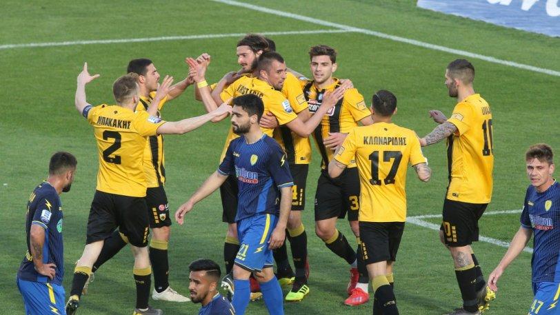 ΑΕΚ – Παναιτωλικός 4-0: σαν σε προπόνηση…
