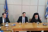 Δήμαρχος Αγρινίου στη Δεξίωση: Και αυτή η επέτειος μας βρίσκει αντιμέτωπους με σύγχρονες μάχες (φωτό)