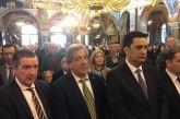 25η Μαρτίου: παρουσία του δημάρχου Αθηναίων ο ερτασμός στο Αγρίνιο-εικόνες από τη Δοξολογια