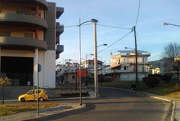 Aναβάθμιση ηλεκτροφωτισμού σε δρόμους του Αγρινίου