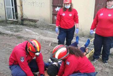 ΕΟΕΔ Μεσολογγίου: Άσκηση για απεγκλωβισμό θυμάτων έπειτα από σεισμό (φωτο)