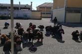 Η ΕΟΕΔ έδειξε στους μαθητές του Γυμνασίου Νεοχωρίου τι πρέπει να κάνουν σε περίπτωση σεισμού