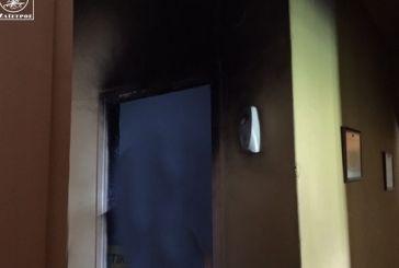 Φωτιά προκάλεσε σοβαρές ζημιές σε διαμέρισμα στην Αμφιλοχία