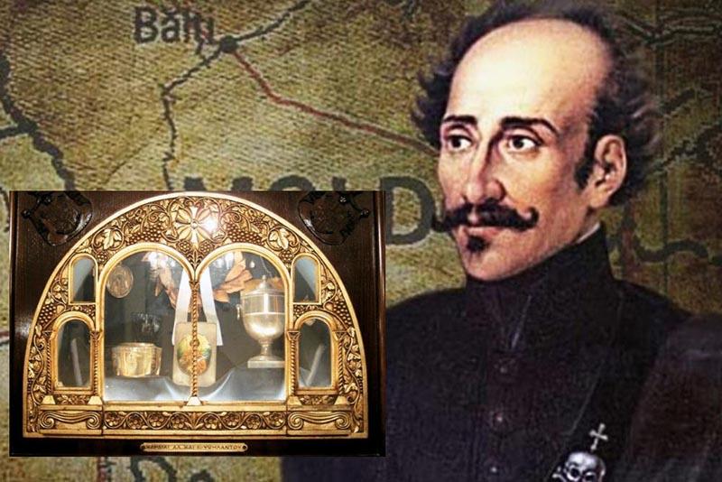 Στο Μεσολόγγι για τις Εορτές Εξόδου η καρδιά του Αλέξανδρου Υψηλάντη