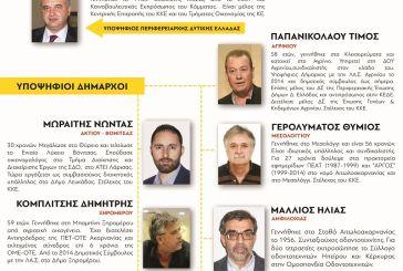 ΚΚΕ: κάλεσμα στήριξης των υποψηφίων της Λαϊκής Συσπείρωσης στην Αιτωλοακαρνανία