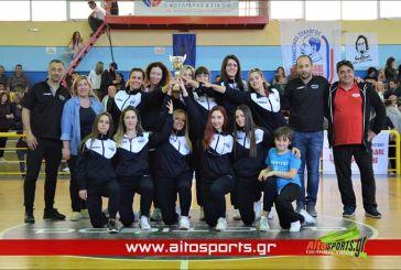 Βόλεϊ: Το σήκωσαν τα κορίτσια του Χαρίλαου Τρικούπη (φωτο)