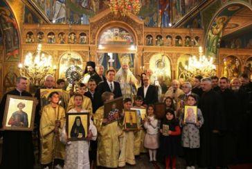 Εορτάστηκε στον Μητροπολιτικό Ναό της Ναυπάκτου η Κυριακή της Ορθοδοξίας