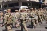 Τα βατράχια του Λιμενικού τραγούδησαν στην παρέλαση το «Μακεδονία ξακουστή» παρά την απαγόρευση [βίντεο]