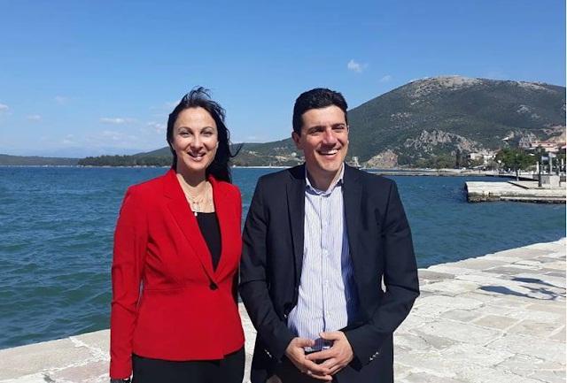 Στη Βόνιτσα η Υπουργός Τουρισμού