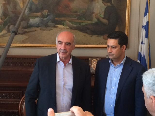Θα συναντήσει και τον δήμαρχο ο Μεϊμαράκης στο Αγρίνιο