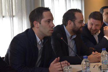 Περιοδεία στην Αιτωλοακαρνανία του υποψήφιου  ευρωβουλευτή Λευτέρη Βαρουξή