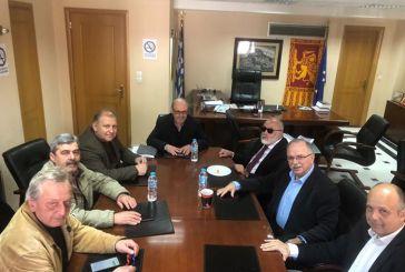 Σειρά συναντήσεων Κουρουμπλή και Παπαδημούλη στη Ναύπακτο (φωτο)