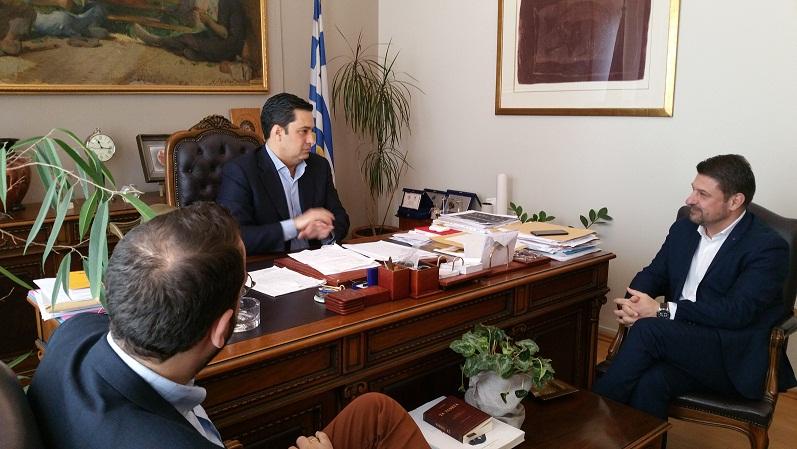 Γραμματέας Αυτοδιοίκησης ΝΔ: απερίφραστη στήριξη σε Γιώργο Παπαναστασίου