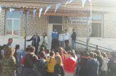 Ποδοσφαιριστές του Παναιτωλικού στο 1ο Δημοτικό Σχολείο Νεάπολης (φωτο)