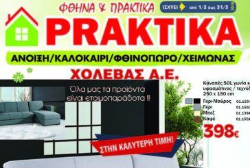 Μήνας προσφορών στην PRAKTIKA Xολέβας – καναπές και κρεβάτια στις καλύτερες τιμές