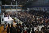 Ομιλία Σαλμά στο κατάμεστο Γυμναστήριο του Πανελλήνιου