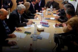 Ένταση σε σύσκεψη για το ΤΕΙ στο Αντίρριο (video)