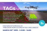 Η Περιφέρεια Δυτικής Ελλάδας σε Διεθνές Συνέδριο για τη Γεωργία Ακριβείας στην Ιταλία