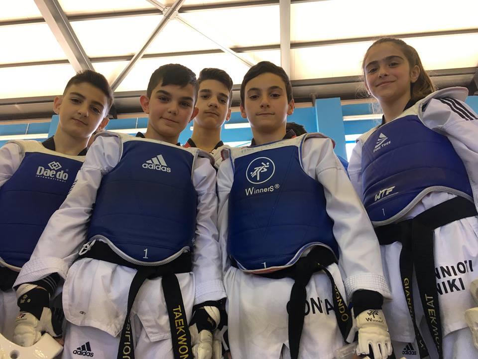 Mε 50 αθλητές ο «Τίτορμος» στους αγώνες TAE KWON DO στον Αστακό